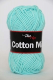 Cotton Mix 8122 - tyrkys pastel